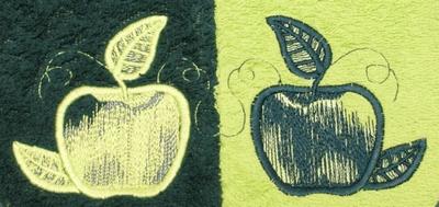 Slab met mouwtjes Appels
